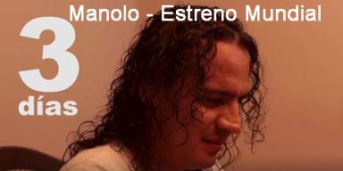 Gran estreno del nuevo tema promocional de Manolo Aliado al Tiempo
