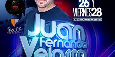 Juan Fernando Velasco Tour USA 2014