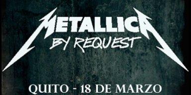 Metallica en Ecuador