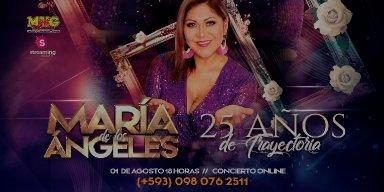 MARÍA DE LOS ÁNGELES - CONCIERT VIRTUAL