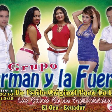 GRUPO MIXTO  JERMAN Y LA FUERZA - HE SENTIDO AMOR (D.R.A)